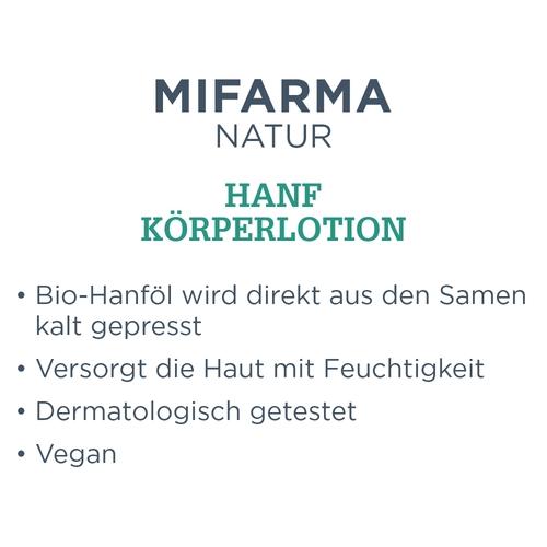 Mifarma Natur Hanf Körperlotion - 2