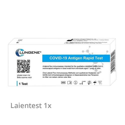CLUNGENE Covid-19 Corona Antigen Selbsttest Nasentest - 1