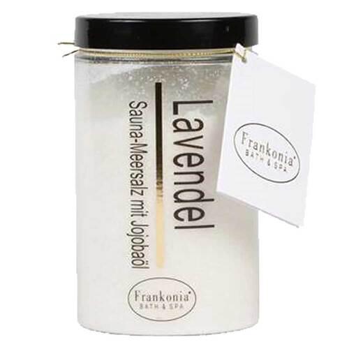 Frankonia Lavendel Sauna Salz Meersalz + Jojobaböl - 1
