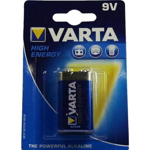 Batterien E Block 6 LR 61 9V 4922 Varta High - 1