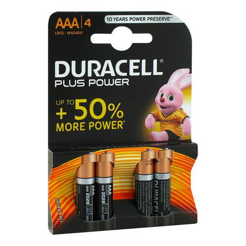 Batterien Micro LR 03 AAA MN2400 Duracell Plus - 1