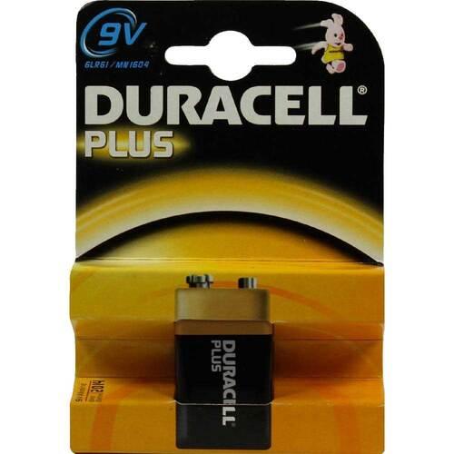 Batterien E Block 6 LR 61 9V MN1064 Duracell Pl. - 1