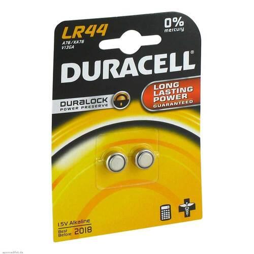 Batterien Knopfzelle LR 44 A76 Duracell - 1