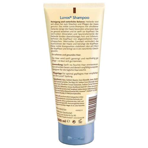 Luvos Naturkosmetik mit Heilerde Haarshampoo - 2