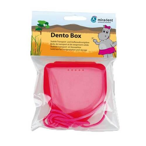 Miradent Zahnspangenbox Dento Box I pink - 1