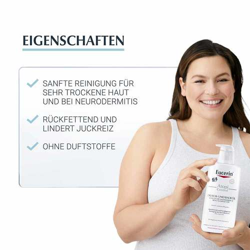 Eucerin AtopiControl Dusch- und Badeöl - 2
