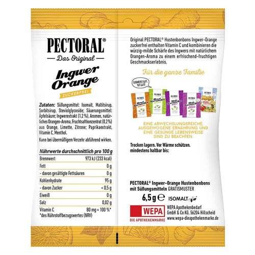 Pectoral Ingwer Orange Bonbons zuckerfrei - 2