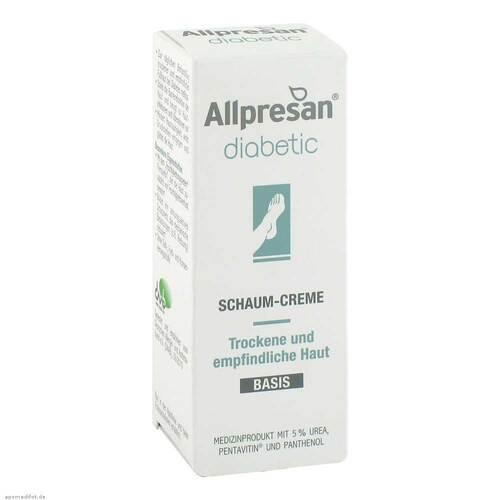 Allpresan diabetic Schaum-Creme Basis - 1