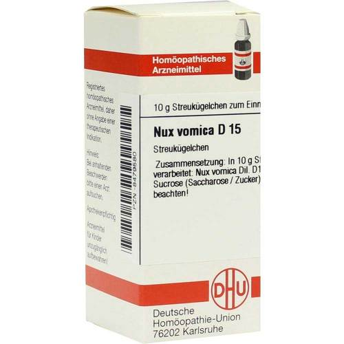 Nux vomica D 15 Globuli - 1