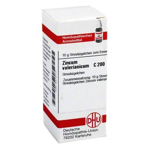 DHU Zincum valerianicum C 200 Gl - 1