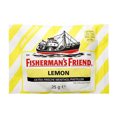 Fishermans Friend Lemon ohne Zucker Pastillen - 1