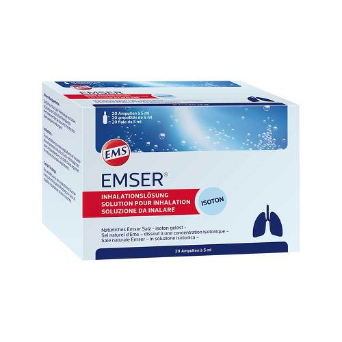 Emser Inh. Lösung Inhalationsampullen - 1