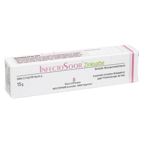 Infectosoor Zinksalbe - 1