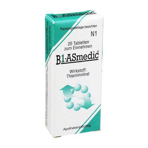 B1 Asmedic Tabletten - 1