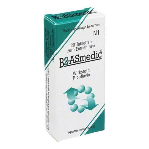 B2 Asmedic Tabletten - 1