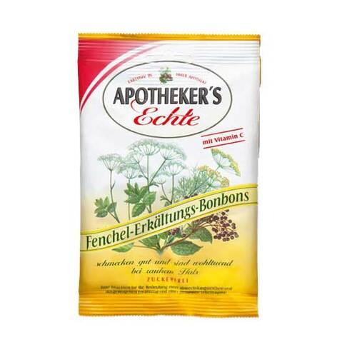 Apothekers Echte Fenchel Erkältungsbonbons zuckerfrei - 1