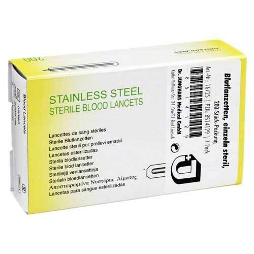 Blutlanzetten einzeln steril - 1