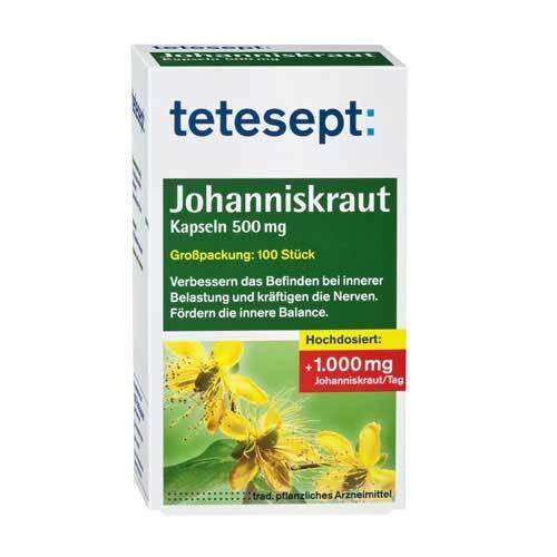 Tetesept Johanniskraut-Kapseln - 1