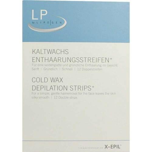 X-Epil Kaltwachsstreifen für d - 1