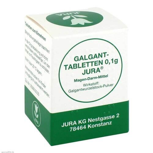 Galganttabletten 0,1 g Jura - 1