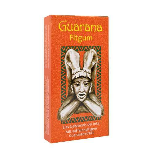 Guarana Fitgum Blisterpack.Kaudragees - 1
