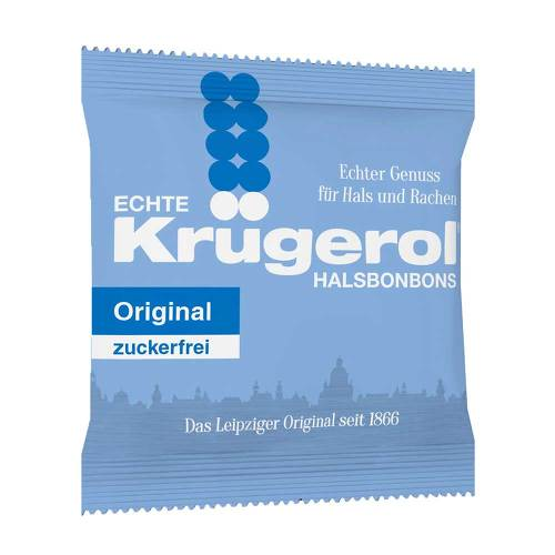 Krügerol Halsbonbons zuckerfrei - 1