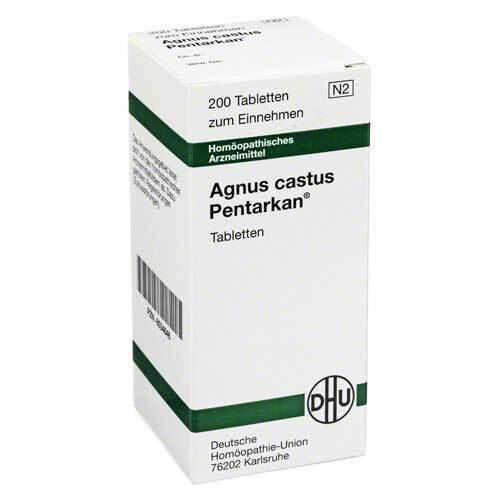 DHU Agnus castus Pentarkan Tabletten - 1