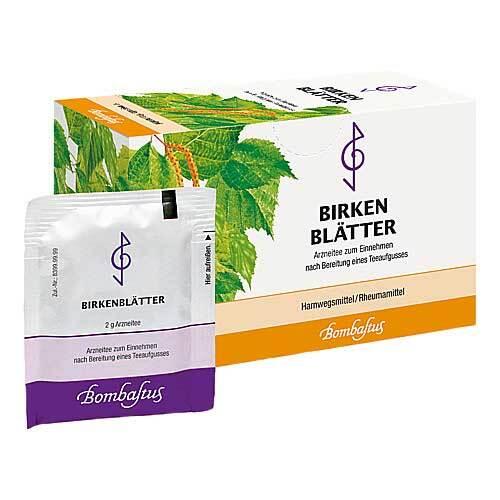 Birkenblätter Tee Filterbeutel - 1