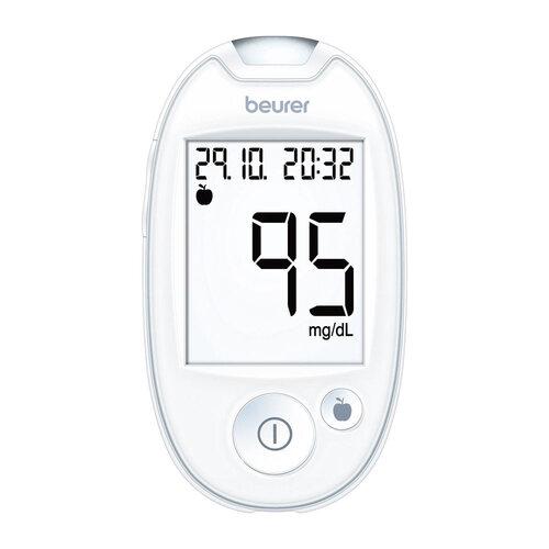 Beurer Blutzuckermessgerät GL 44 mg / dl weiß - 1