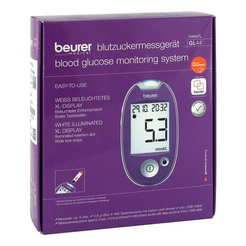 Beurer Blutzuckermessgerät GL 44 mmol / l lila - 1