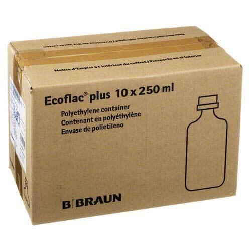 Kochsalzlösung 0,9% Ecoflac Plus - 1