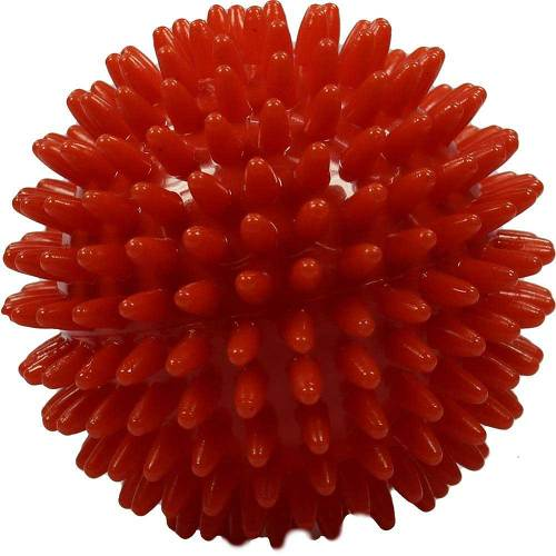 Igelball 9cm rot - 1