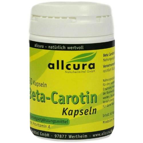 Beta Carotin Kapseln - 1