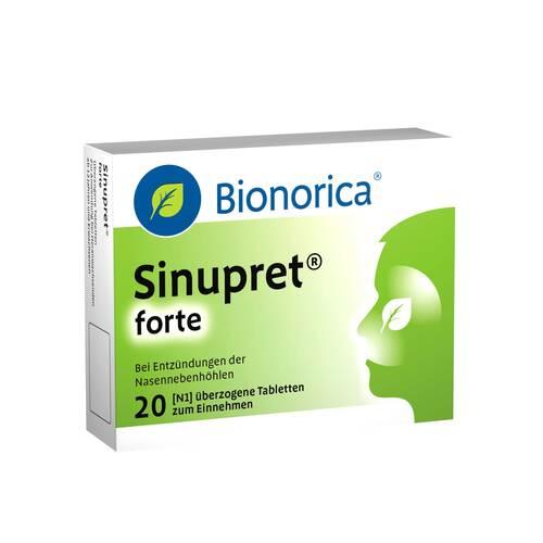 Sinupret forte überzogene Tabletten - 1