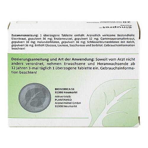 Sinupret forte überzogene Tabletten - 2