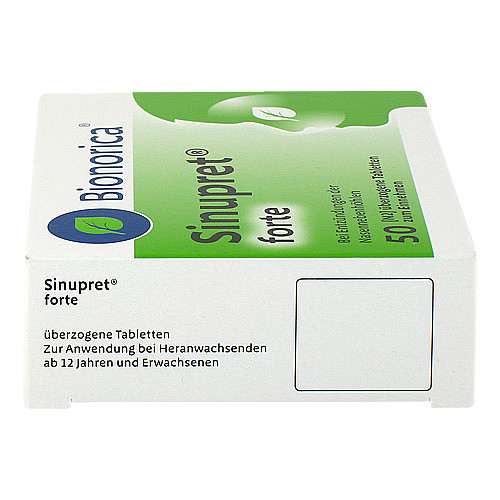 Sinupret forte überzogene Tabletten - 4