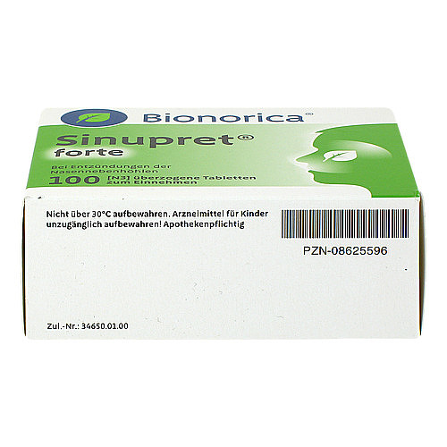 Sinupret forte überzogene Tabletten - 3