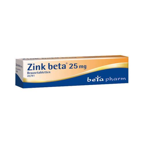 Zink Beta 25 Brausetabletten - 1