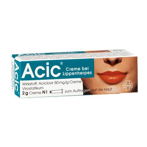 Acic Creme bei Lippenherpes - 1
