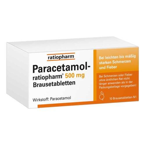 Paracetamol ratiopharm 500 mg Brausetabletten - 1