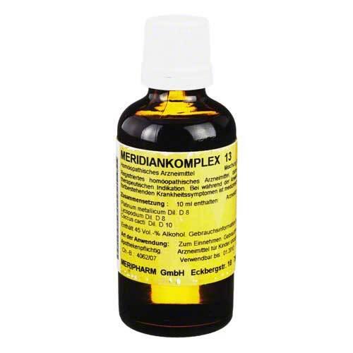 Meridiankomplex 13 Tropfen zum Einnehmen - 1