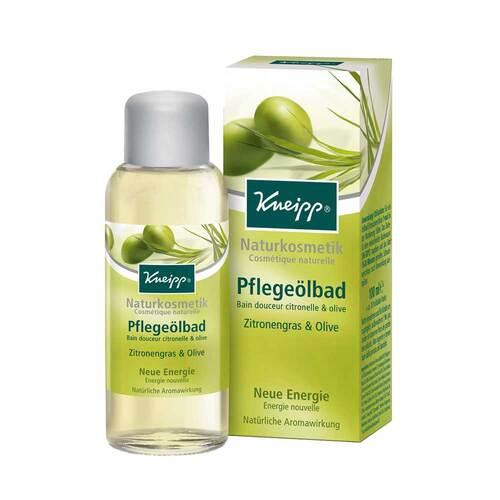 Kneipp Pflegeölbad Zitronengras & Olive - 1