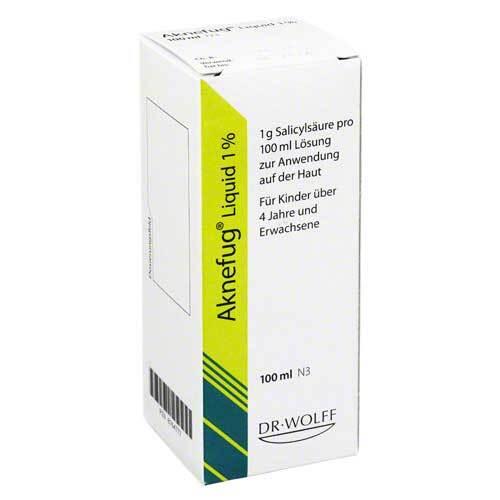 Aknefug liquid 1% Lösung - 1