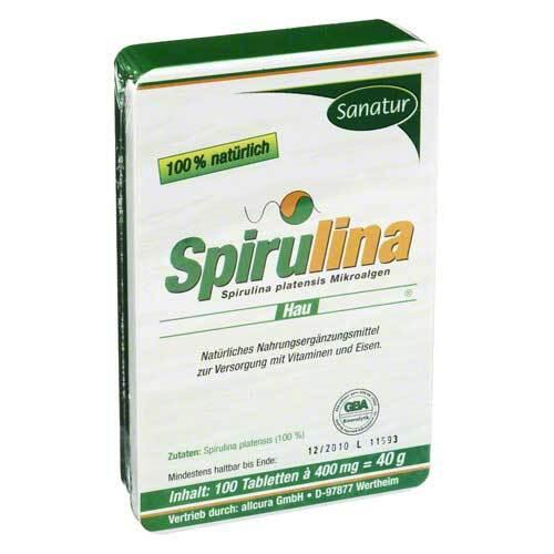 Spirulina Hau 400 mg Tabletten - 1