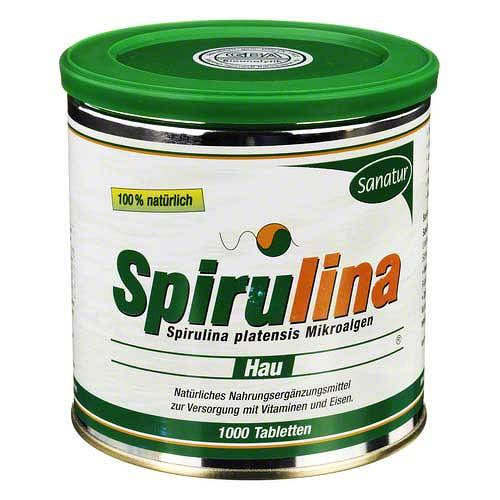 Spirulina Hau 400 mg Tabletten - 1