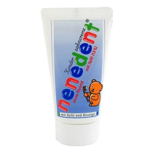 Nenedent Kinderzahncreme ohne Fluor - 1