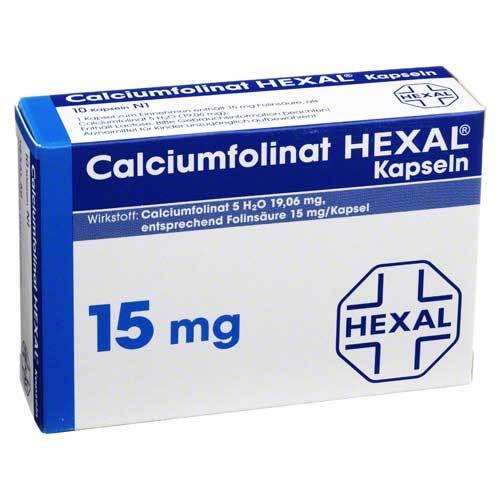 Calciumfolinat Hexal Kapseln 15 mg - 1