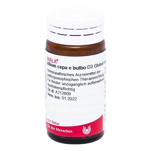 Allium cepa E Bulbo D 3 Globuli - 1