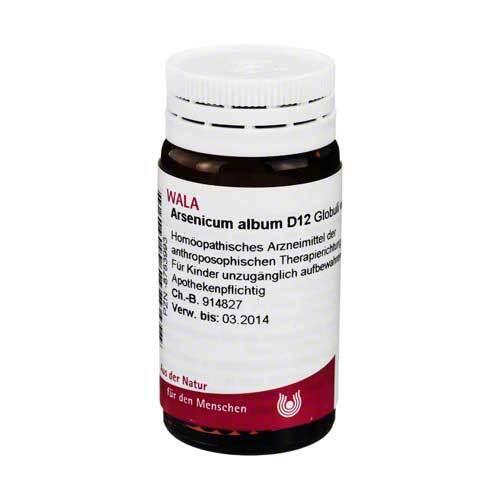 Arsenicum album D 12 Globuli - 1