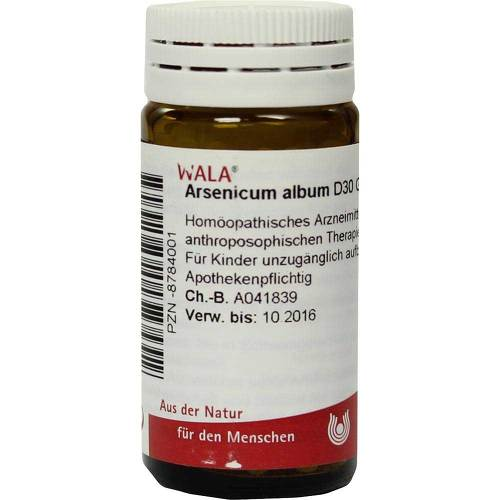Arsenicum album D 30 Globuli - 1